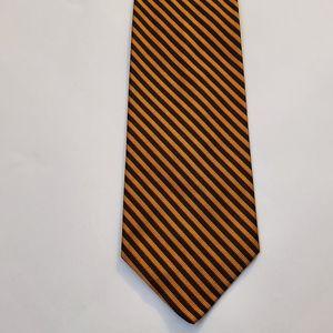 Robert Talbott Silk Black & Yellow Stripes